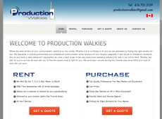 PRODUCTIONS WALKIES